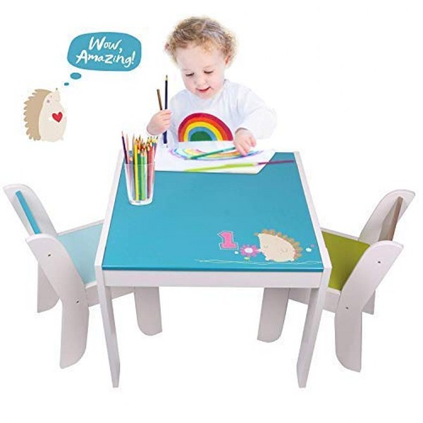 labebe Wooden Activity Table Chair Set